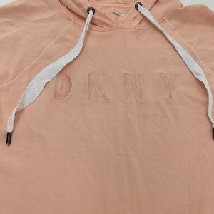 Dkny Dresses - New DKNY Hooded Sport Dress Medium
